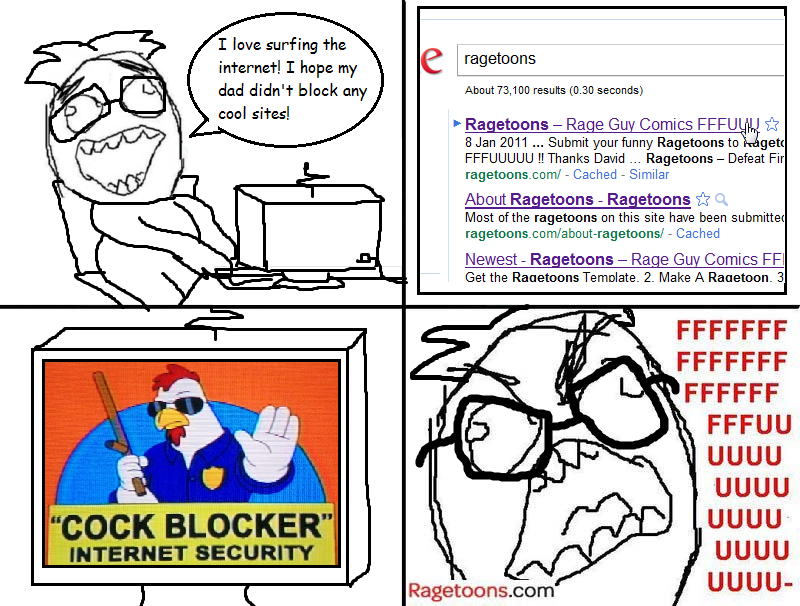 Internet Block Rage