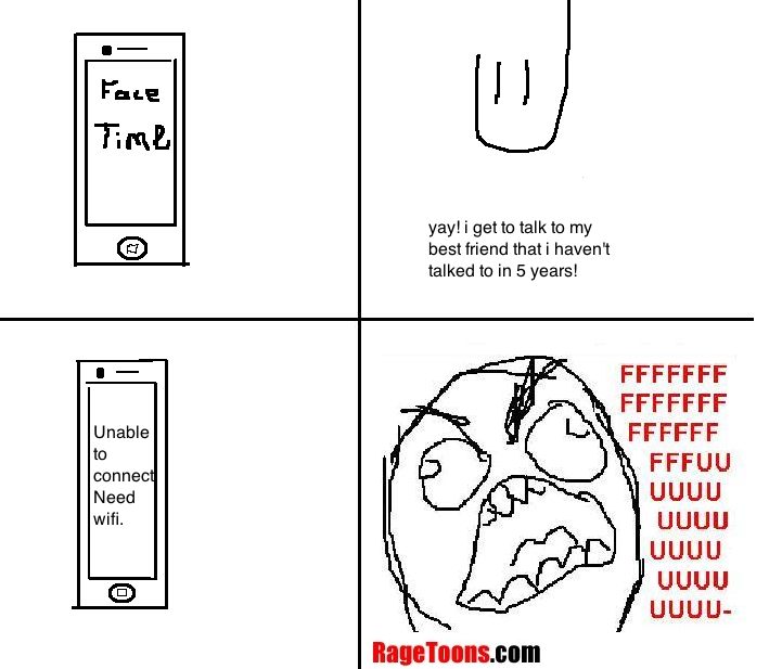 iPhone Facetime Rage