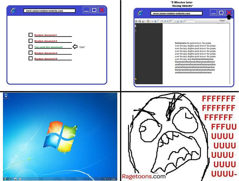 Web Browser Closed Prank Rage