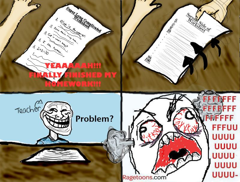Second Side Worksheet Rage