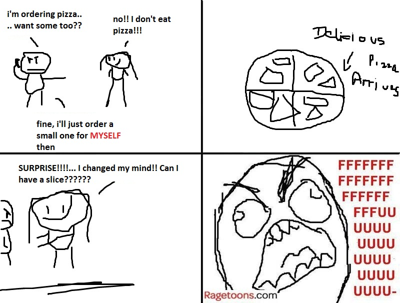 Change Mind Pizza Rage
