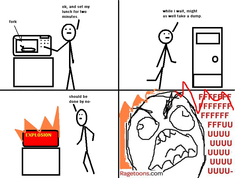 Microwave Food Rage