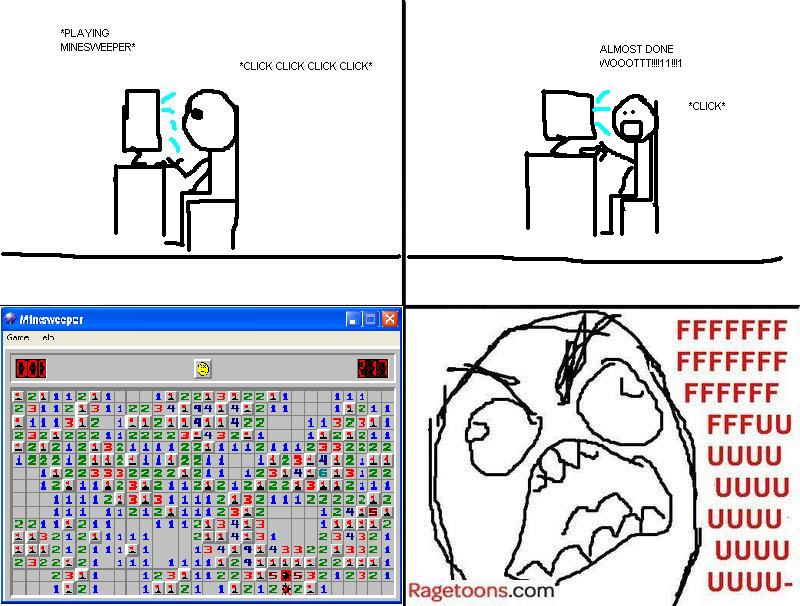 Minesweeper Explode Rage