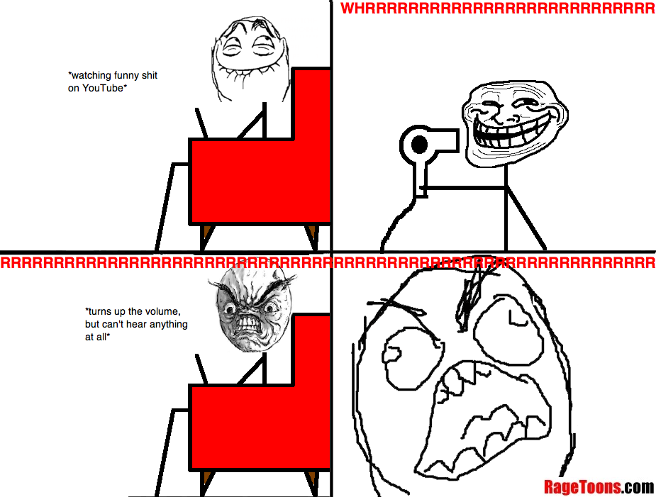 Noisy Hair Dryer Rage