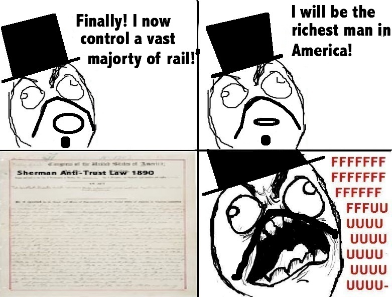 sherman act rage